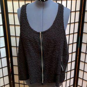 NWT Sympli Boucle Vest Size 18